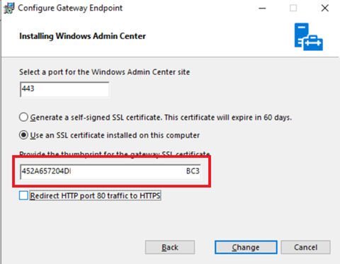 Update Windows Admin Center Certificate - CoryRetherford com