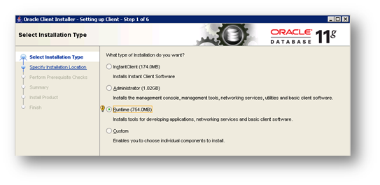 Oracle Client Install on SQL Server Analysis Server
